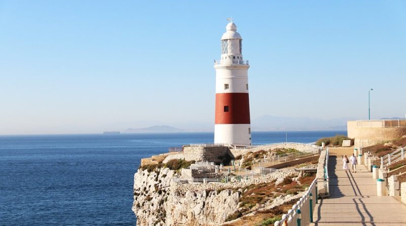 Gibraltar prosklená vyhlídka